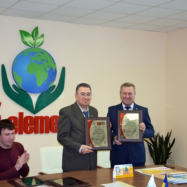 """Company """"SPE """"5 ELEMENT"""" received certificates ISO 9001 and ISO 14001"""