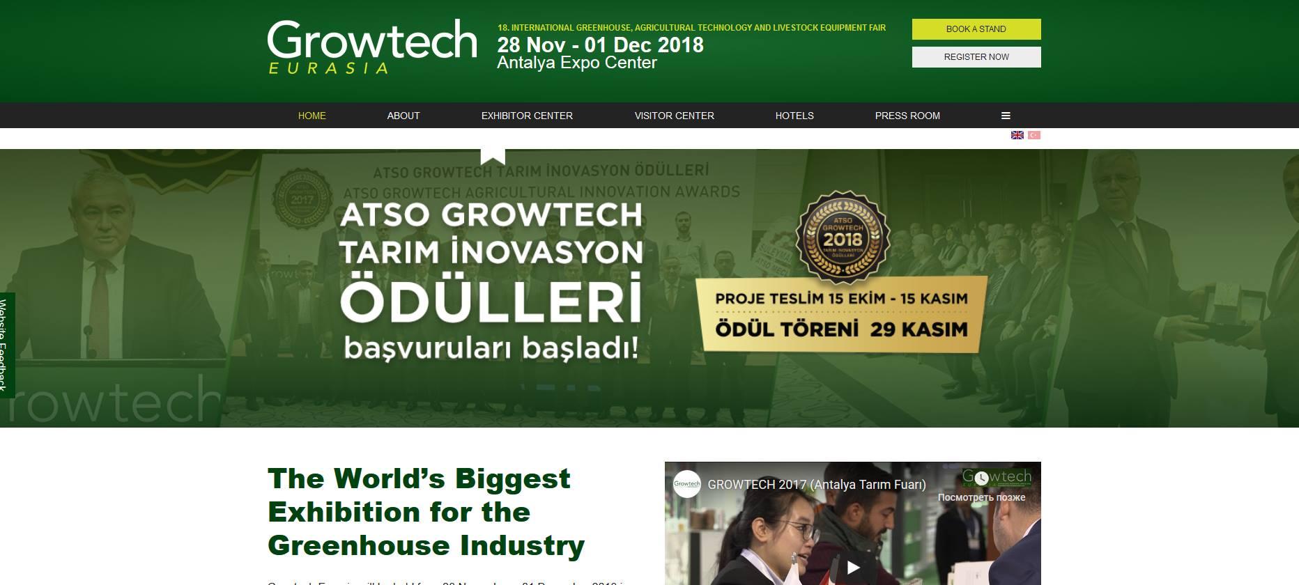 Growtech Eurasia 2018